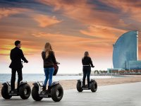 Discovering Barcelona by segway