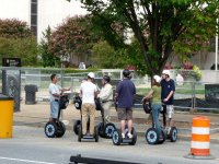 Segway with guide Barcelona