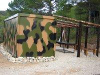 Nuestras instalaciones para el paintball