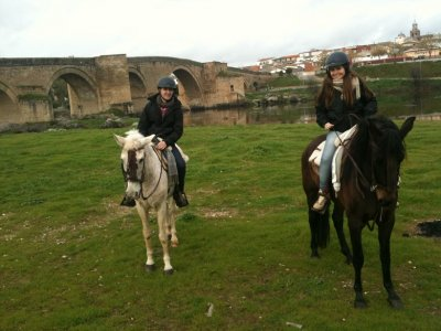 Horse Riding Tour by Tajo river 1h 30 min