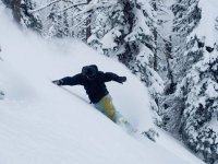 Snowboarding free style