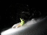 Snowboard nocturno