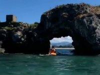 Kayak en la Bahia de Santander