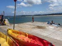 Kayaks en el Puerto Deportivo de Santander