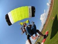 Parachute landing in Sant Fruitós
