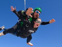 Jump in Barcelona with instructor
