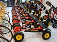 Nuestros coches de pedales