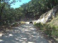 Por el camino en quad