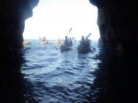 Vistas de las cuevas