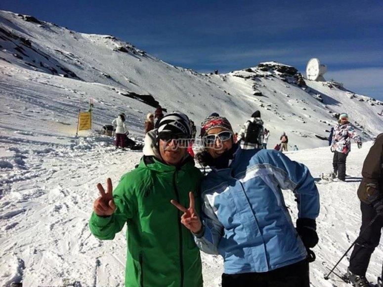 Jornada de esquí en Sierra Nevada
