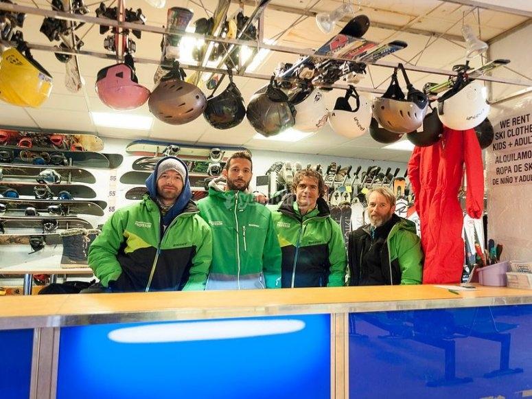滑雪设备租赁