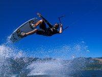 kitesurfing trick