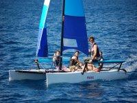 帆船课程--999-在双体船航行