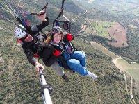 Tandem in Paragliding