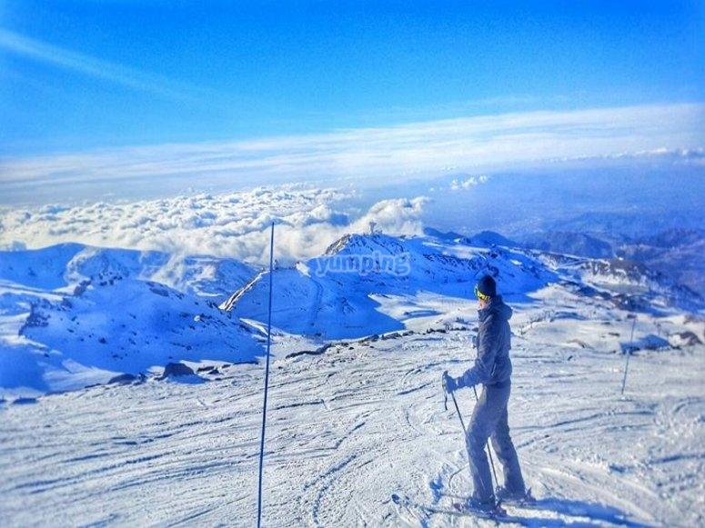 esquiando por granada