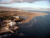 Las Palmas from the air