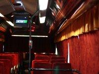 Einterior del autobus