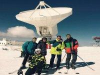 esqui en compania