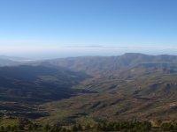 Paisaje del centro de Gran Canaria.