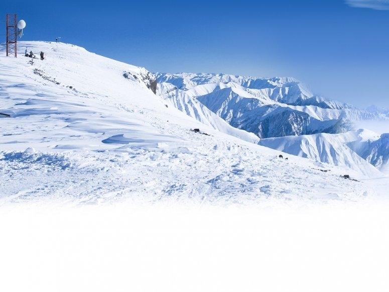 Pistas de esqui amplias