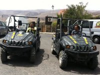 加那利群岛的越野车路线