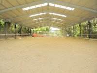 Covered sand court