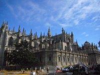 Portada de la Catedral de Sevilla