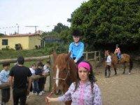 Rutas a caballo en Portodoson
