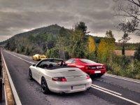 Recorre la carretera de cantabria