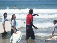 Monitores profesionales del surf