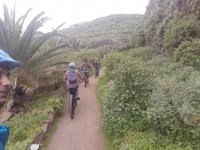 Cycling along the roads of Tenerife
