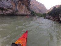 Paseando con el kayak