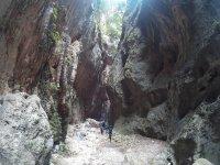 Impresionantes paredes de roca