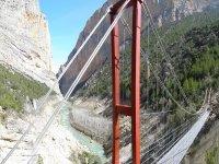 Suspension bridge of Seguer