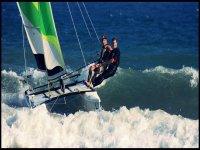 Extreme catamaran trips