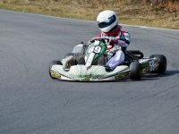 First laps in the kart