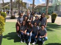 Marineras de despedida en Malaga
