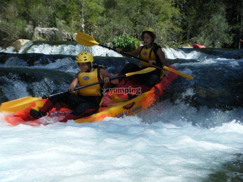 Kayaking in the Alto Tajo