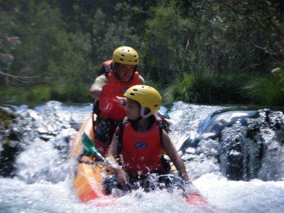 Percorso in kayak nell'Alto Tajo, giornata intera