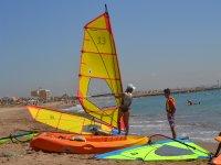 Lezioni di windsurf a qualsiasi livello