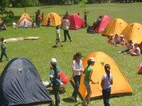 tiendas de camping el fin de semana
