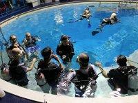 介绍塔里潜水课程塔里跳水跳水在狭窄水域的标志