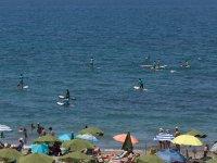 Nuestras playas se llenas de tablas de paddle surf