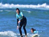 Surfeando sola