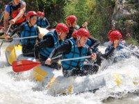 Descendiendo las aguas bravas de Andalucia