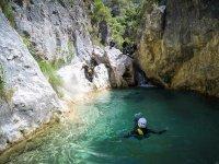 Flotando en aguas de Rio Verde