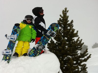 Pura Vida School Snowboard