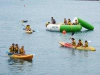 Hinchable acuatico y kayak