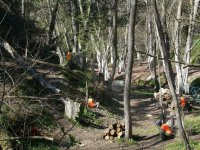 Paintball stage in Sant Celoni