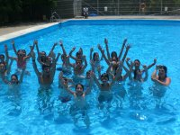 Divertimento in piscina